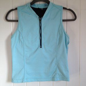 NIKE  Aqua Dri Fit Half Zip sleeveless top Size M